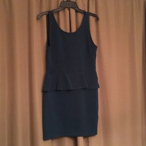 H&M - mini peplum dress